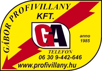 Gábor profivillany Kft.